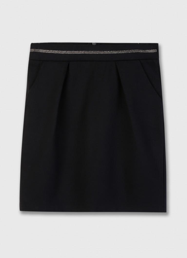 Трикотажная юбка для девочек