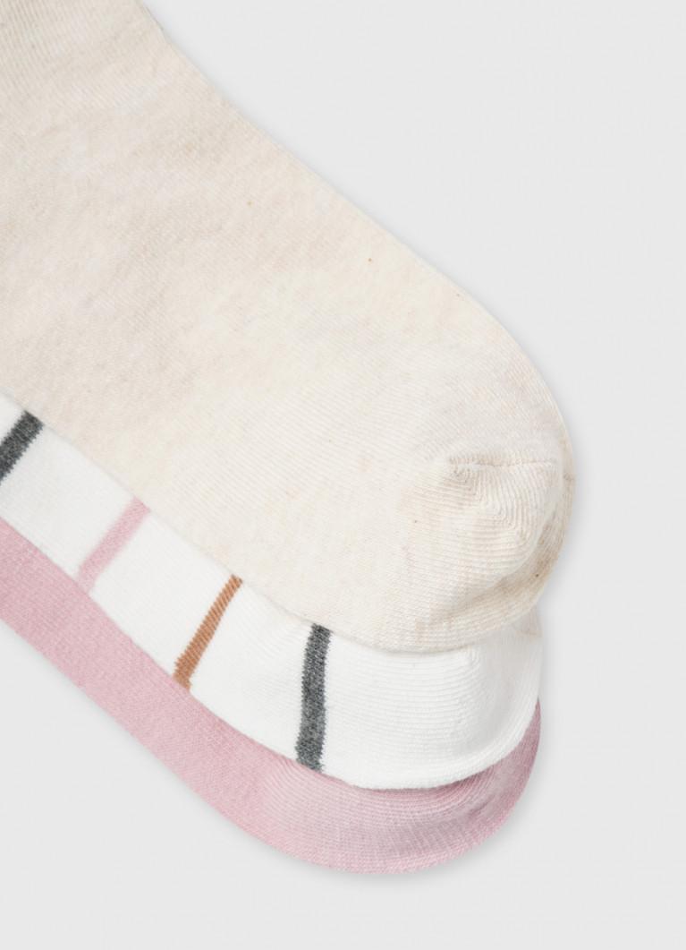 Носки с жаккардом