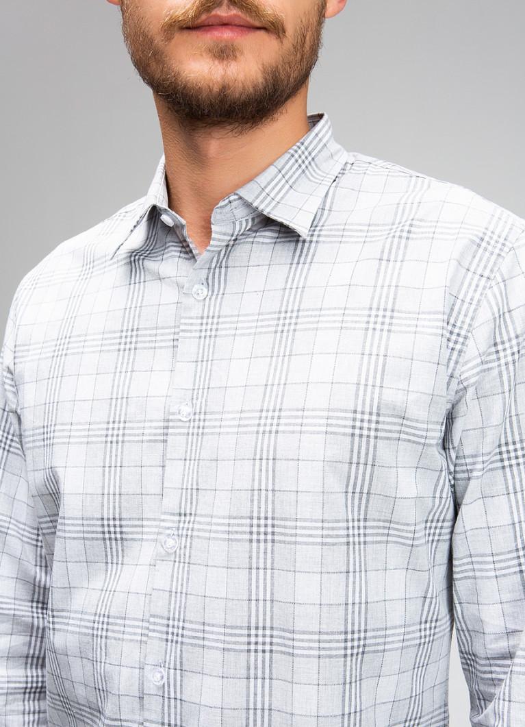 Рубашка O'Stin Рубашка в монохромную клетку