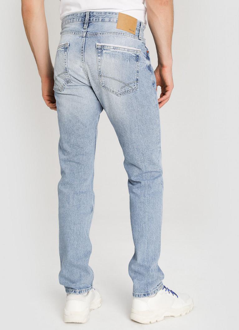 Мужские джинсы O'Stin Зауженные джинсы с потёртостями