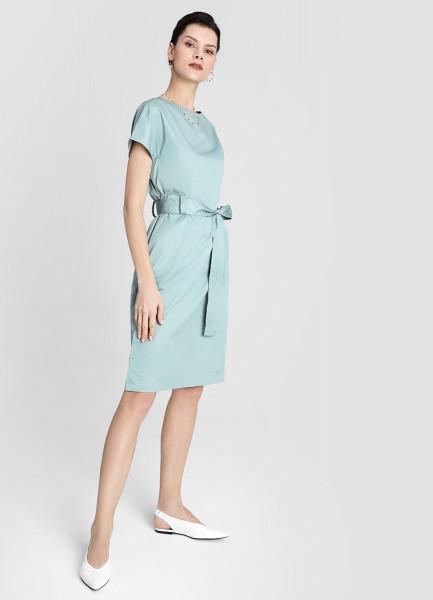 Прямое платье из хлопка-пима