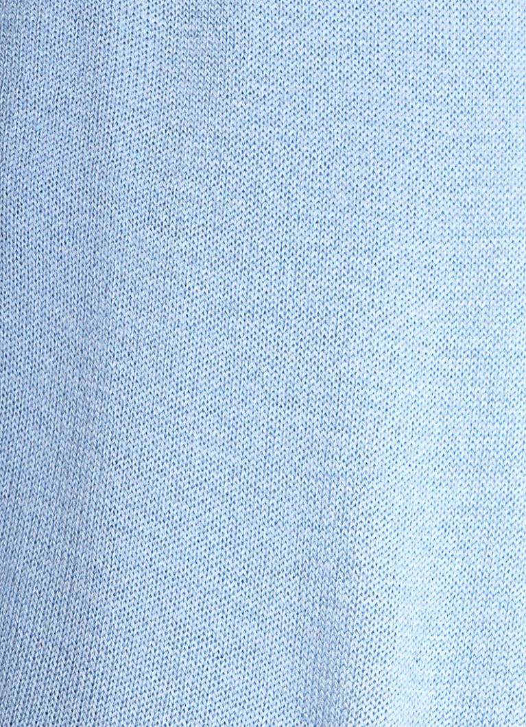 Джемпер тонкой вязки с декором из пуговиц
