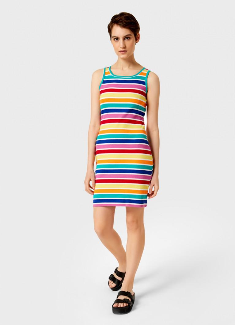 Платье-майка в полоску