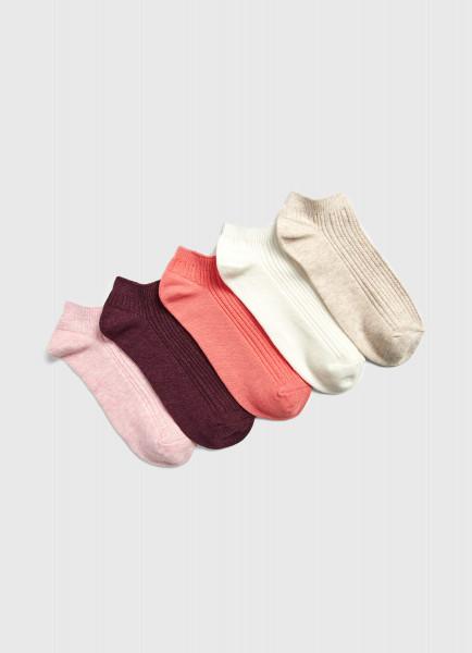 Сет разноцветных носков ostin сет из 5 пар носков
