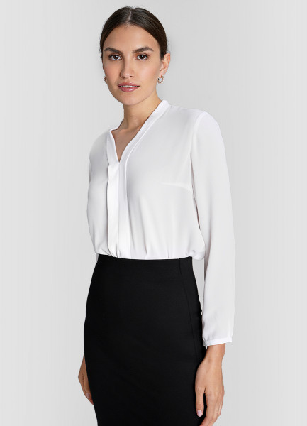 Блузка из крепа ostin блузка из крепа в геометрический принт
