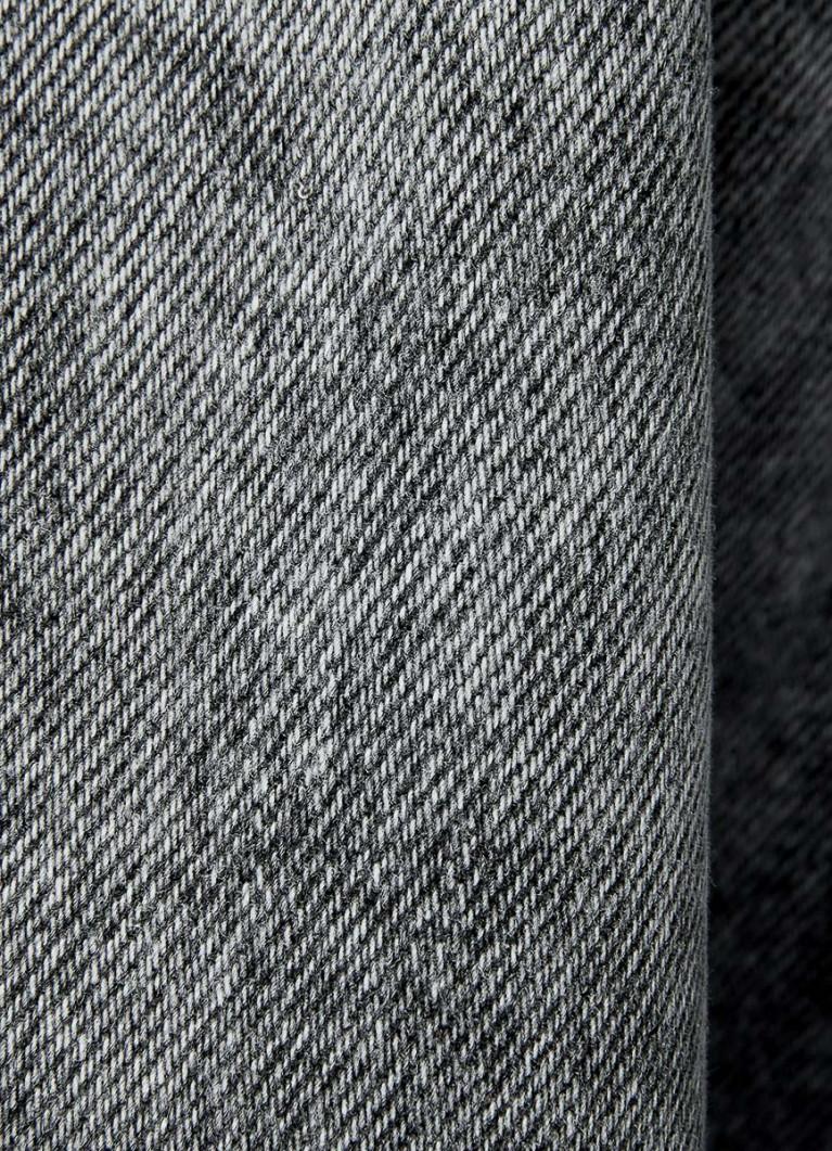Юбка из денима с оксидной стиркой