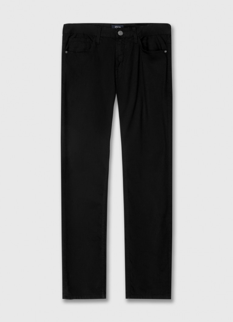Мужские джинсы O'Stin Прямые черные джинсы