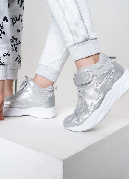 Высокие кроссовки для девочек