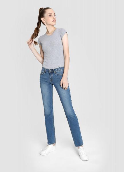 Базовые джинсы Straight Fit фото