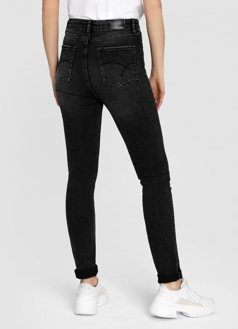 Женские джинсы O'Stin Узкие премиум-джинсы с высокой посадкой