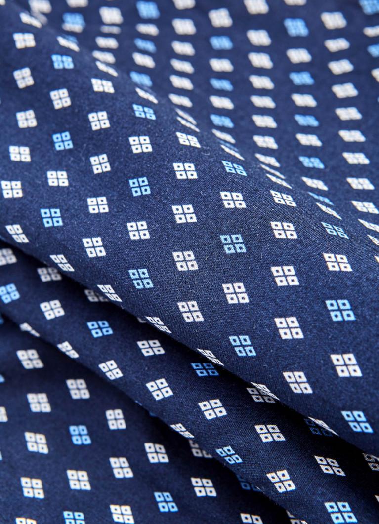Текстильные трусы-боксеры с микропринтом