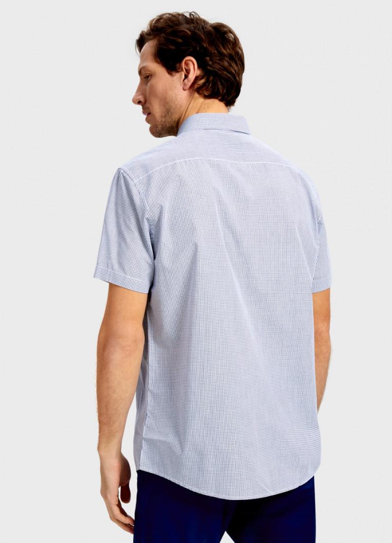 Рубашка в микроклетку