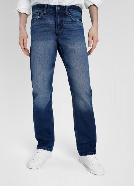 Прямые джинсы из переработанного хлопка