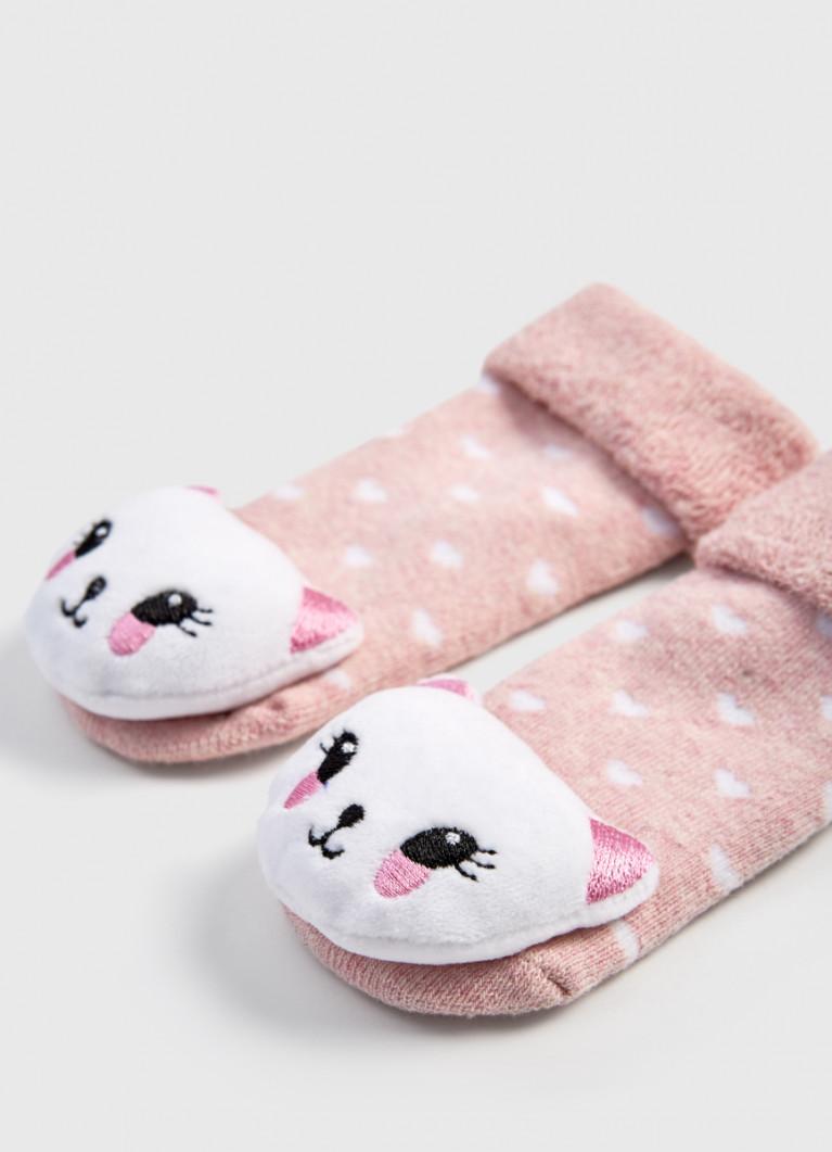 Махровые носки для девочек