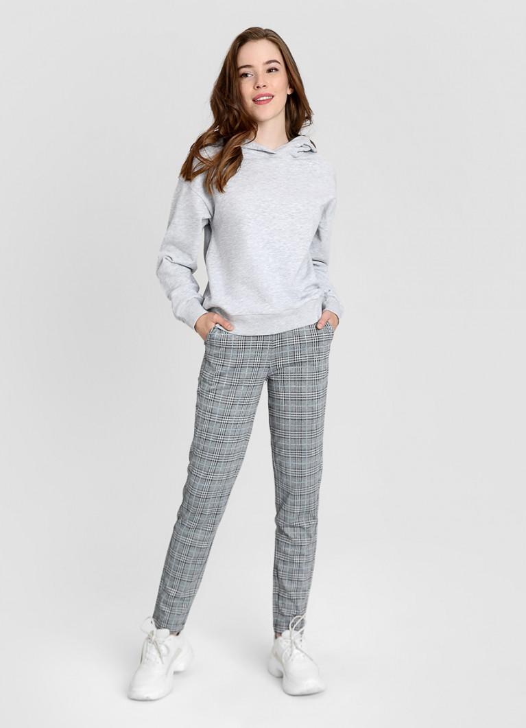 Женские брюки O'Stin Трикотажные брюки в клетку