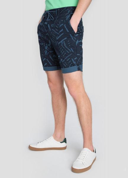 Принтованные шорты Chino с завязками