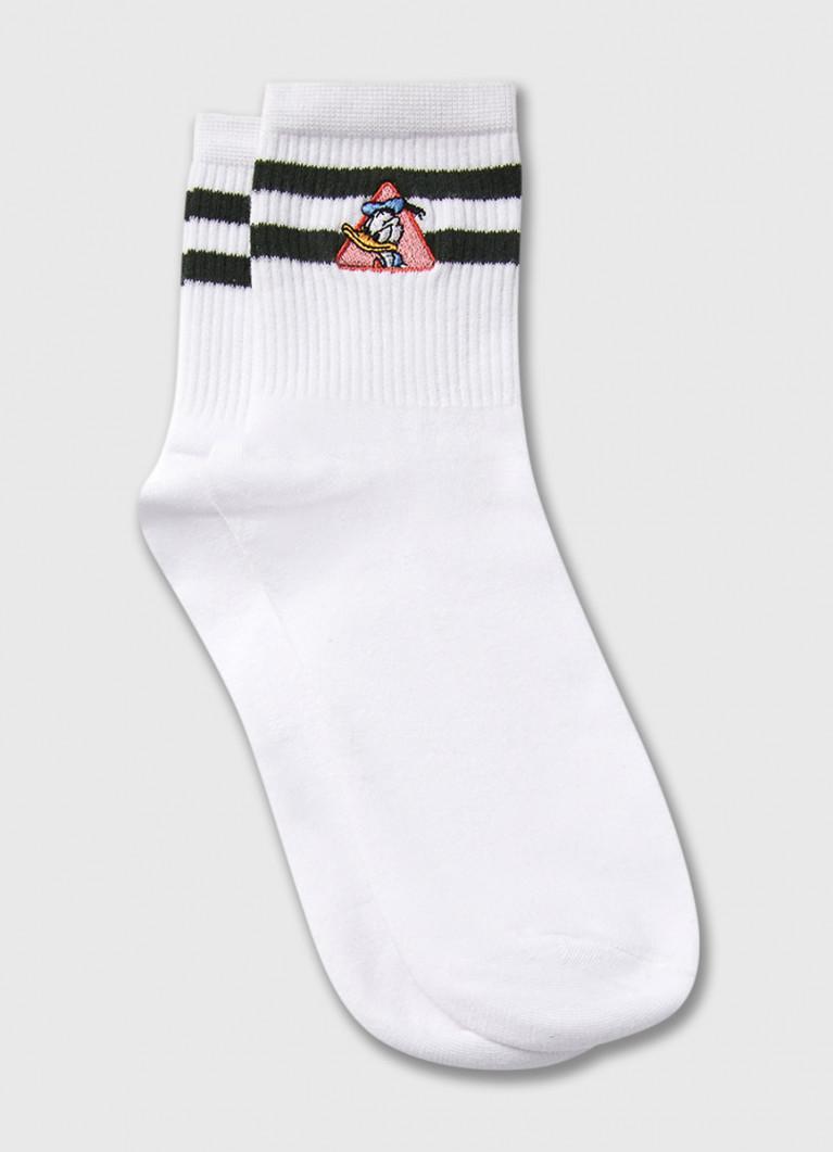 Носки с вышивкой Donald Duck