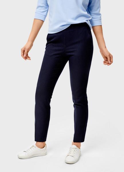 Поливискозные брюки с эластичным поясом
