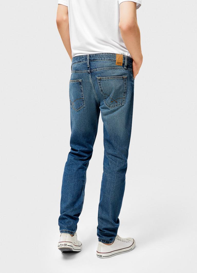 Мужские джинсы O'Stin Базовые зауженные джинсы