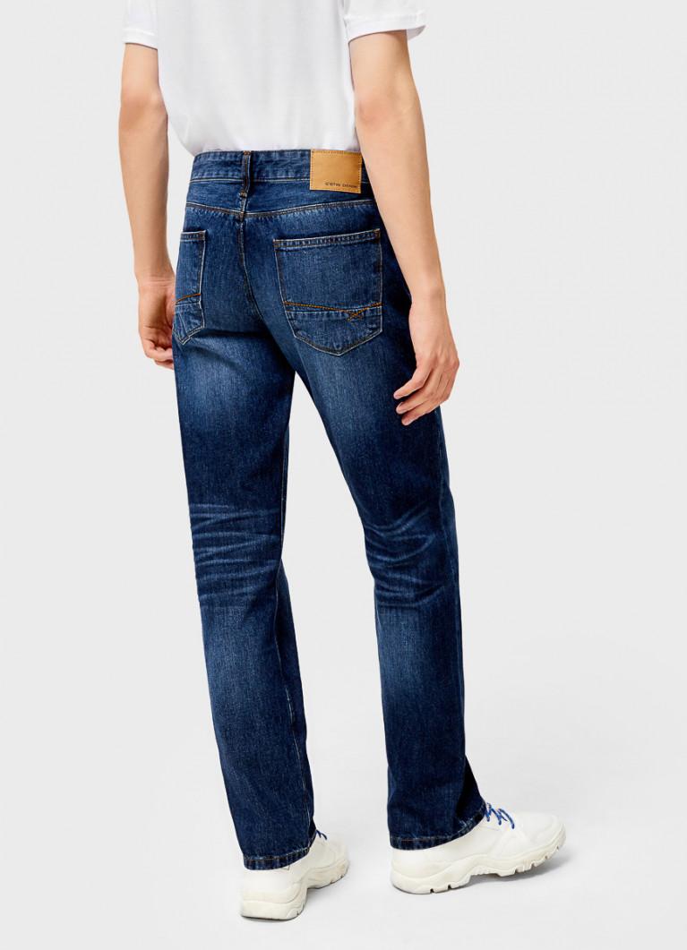 Мужские джинсы O'Stin Прямые джинсы из переработанного хлопка