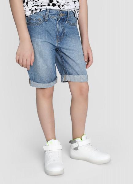 Джинсовые шорты для мальчиков фото