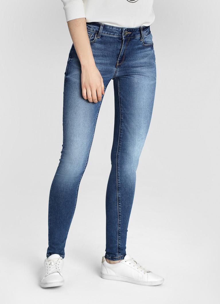 Женские джинсы O'Stin Cиние суперузкие джинсы