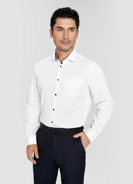 Рубашка из принтованного сатина