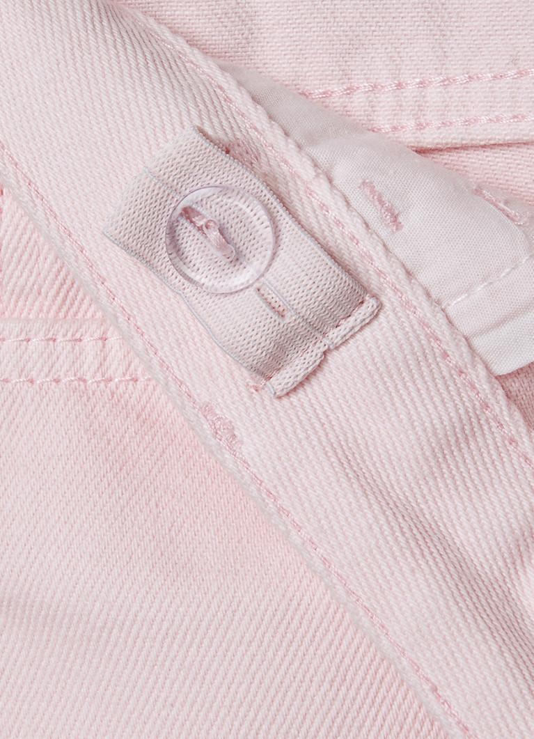 Джинсы для девочек O'Stin Свободные розовые джинсы