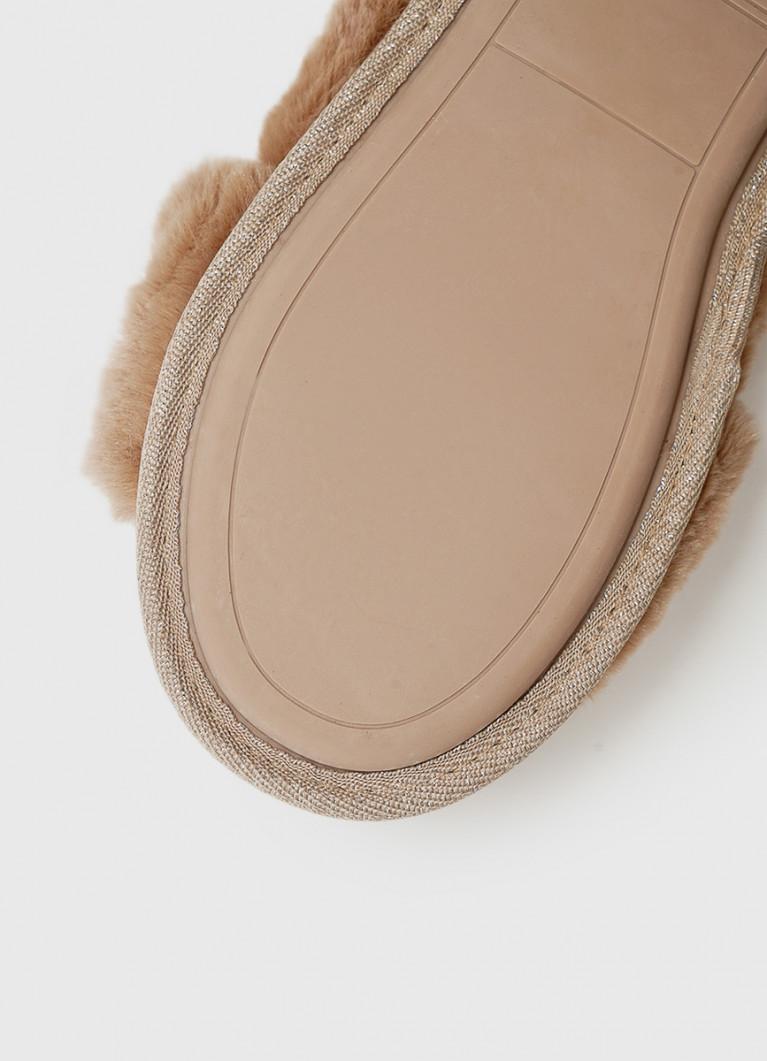 Женская домашняя обувь O'Stin Тапочки с открытыми носами
