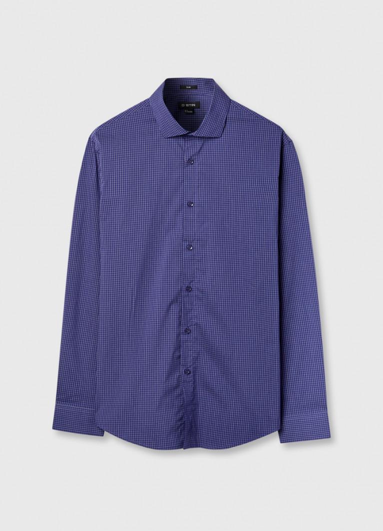 Рубашка в тетрадную клетку