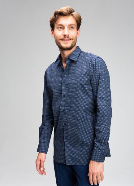 Рубашка с микропринтом фото