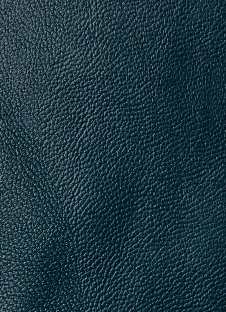 Юбка из искусственной кожи с поясом