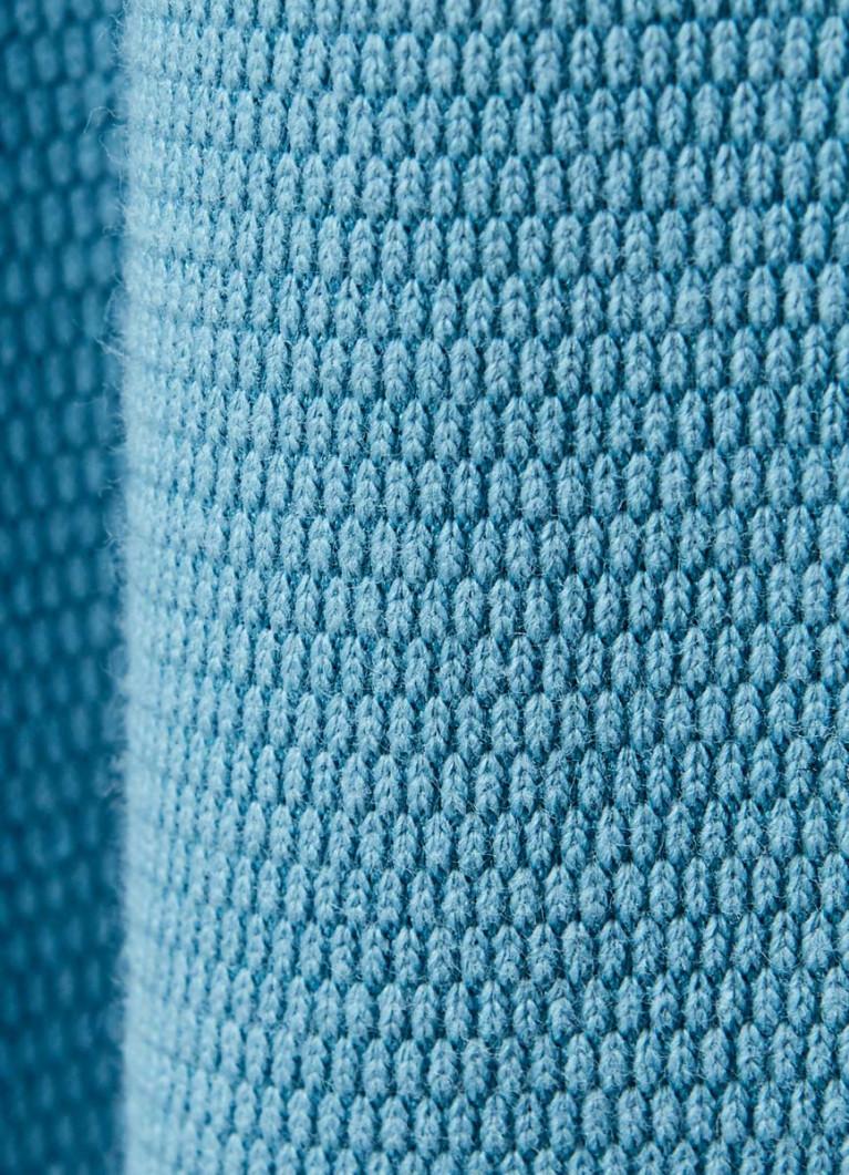 Джемпер с текстильной отделкой