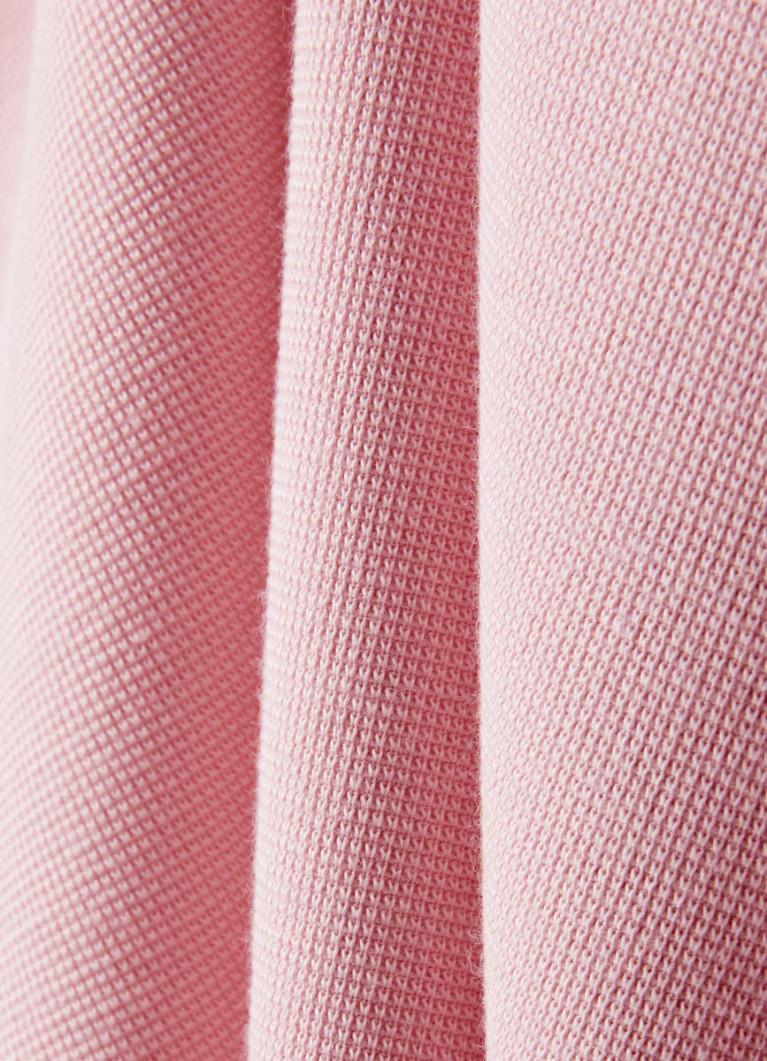 Джемпер с текстильной вставкой