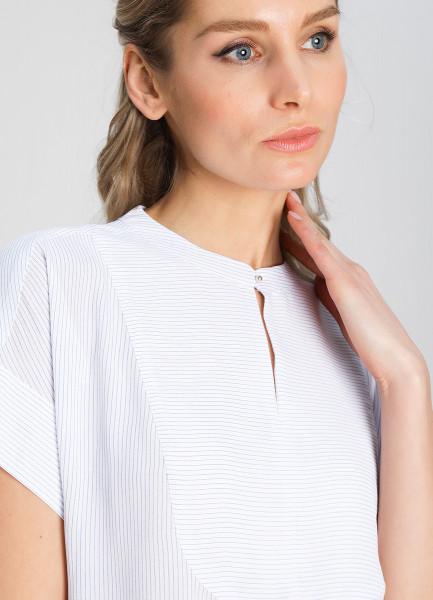 Блузка в микропринт фото
