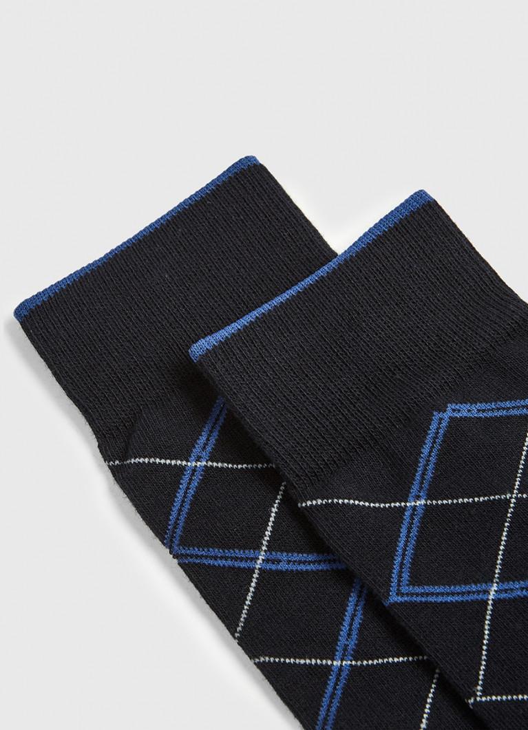 Мужские носки O'Stin Классические носки с жаккардом «ромбы»
