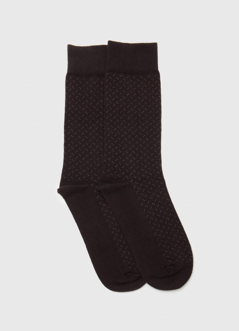 Классические носки с жаккардом