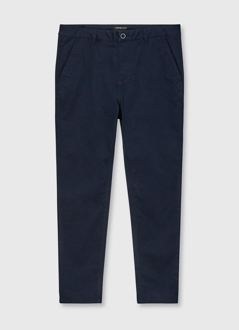 Однотонные брюки чино