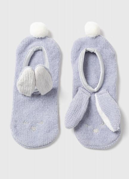 Домашние носки с кроликом