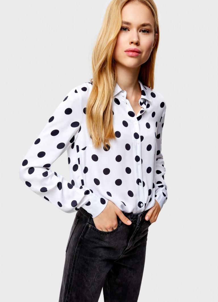 Рубашка из вискозы