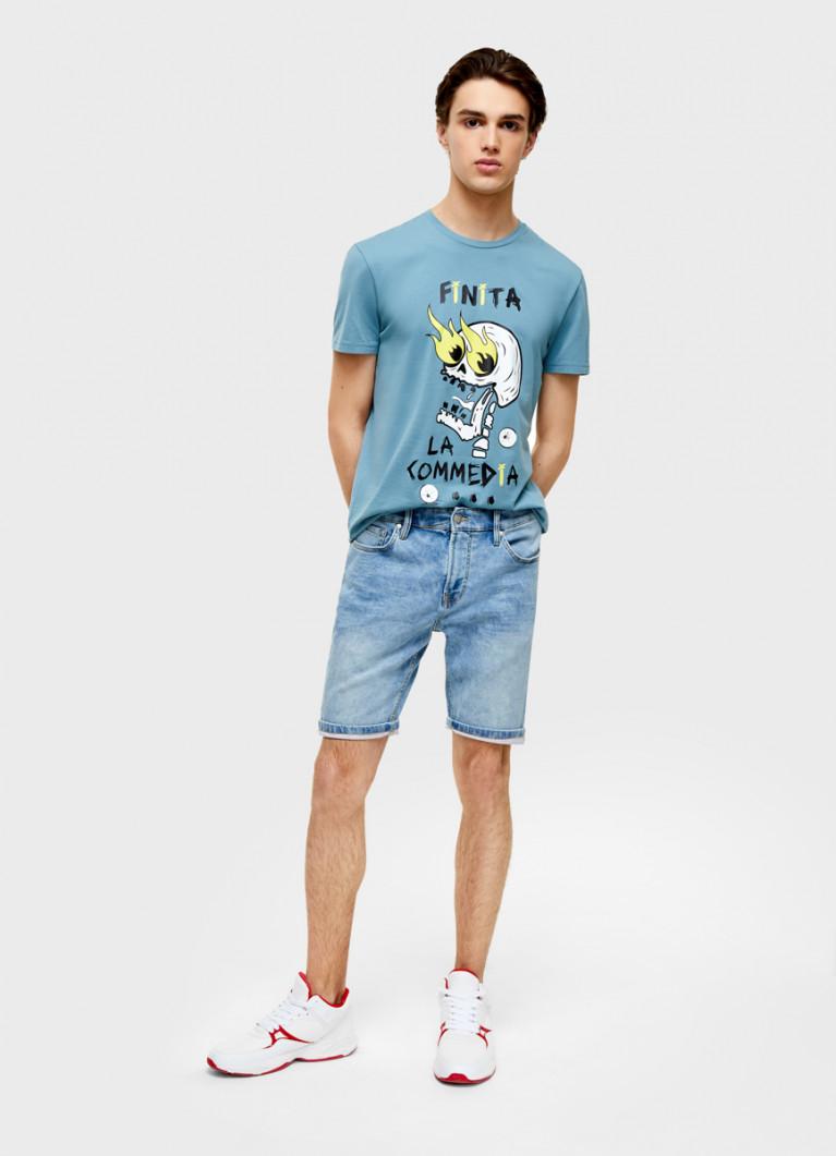 Комфортные джинсовые шорты