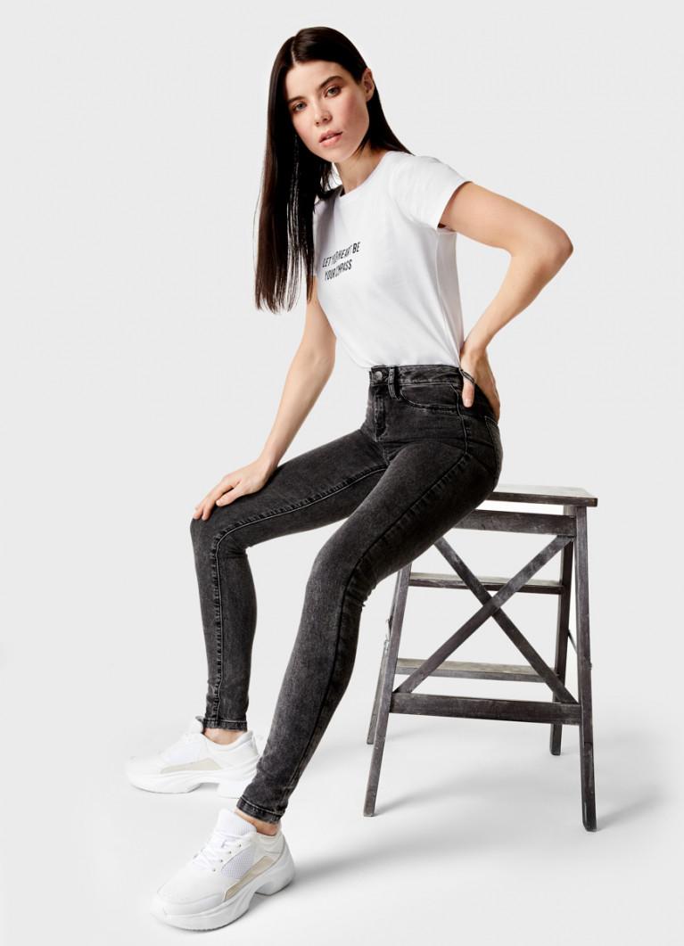 Базовые узкие джинсы