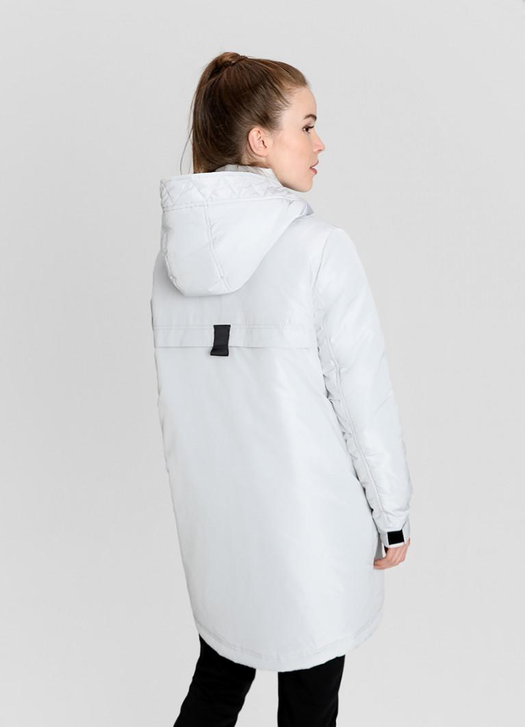 Утеплённая куртка с водозащитными молниями