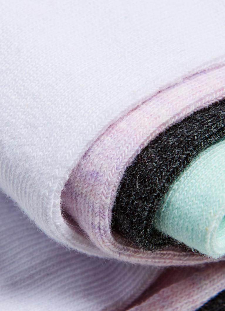 Разноцветные короткие носки