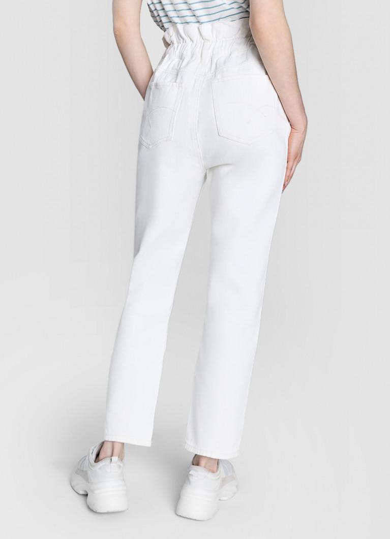 джинсы с высокой посадкой прямые купить