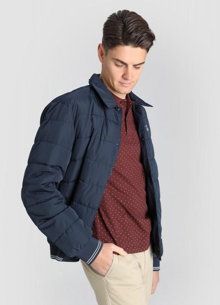Стёганая куртка-бомбер фото