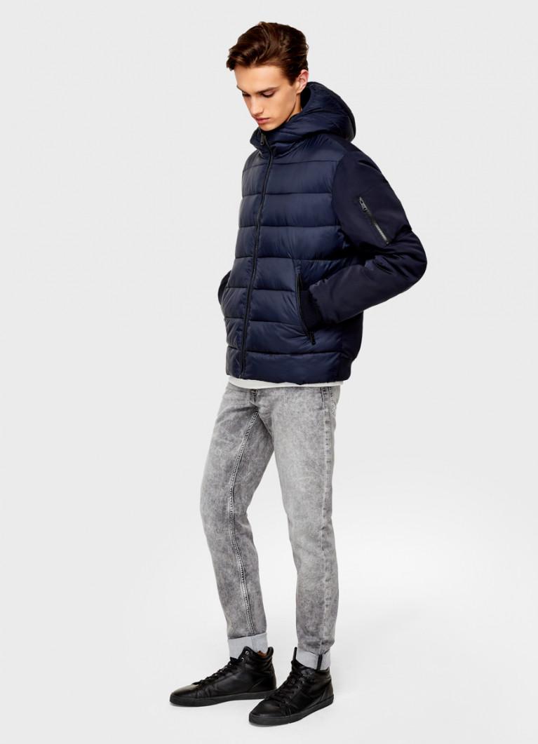 Комбинированная куртка