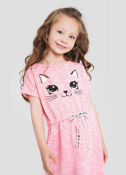 Трикотажное платье для девочек