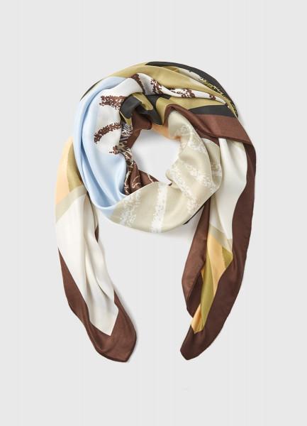 Платок с принтом платок laura biagiotti платок