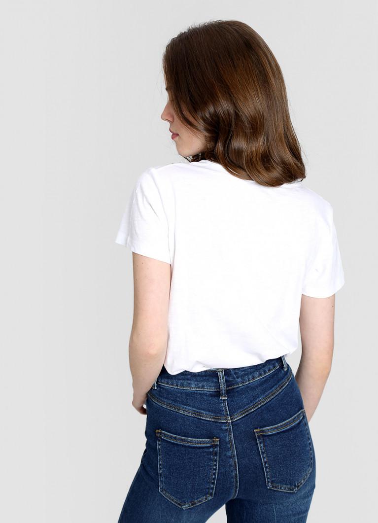 Базовая футболка с карманом